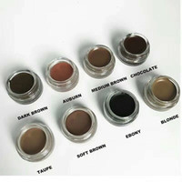 in stock Pomade Medium Brown Waterproof Makeup Eyebrow 4g Bl...