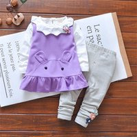 baby girls clothing set spring autumn infant fashion clothes...