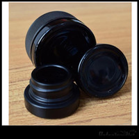 500Pcs Lot 5ML Black Glass Jar Food Grade Non- Stick Dab Jars...
