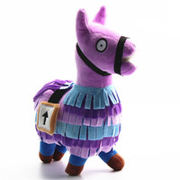 Kids Baby Toys Fortnite Troll Stash Llama Figure Doll Soft S...
