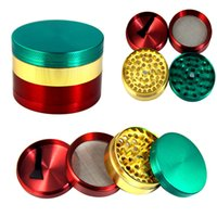 Alloy Tobacco Smoking Herb Grinder Colorful 4 Parts Smoking ...