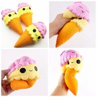 New Squishy Double Face Ice Cream Toy Relieve Stress Dcompre...