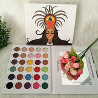 New MAKEUP GLF Cosmetics Princess Azteca Palette 30colors Ey...