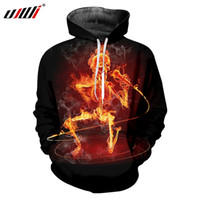 UJWI Man Hipster Hoodies Street Style High Quality Men'...