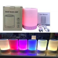 Flashing led wireless bluetooth speaker 7 colors flash stere...