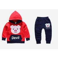 2018 baby boys clothing sets hoodies jacket+ pants&trousers s...