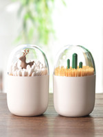 Scandinavian creative toothpick box, toothpick, household li...