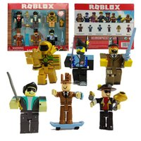 2018 Roblox Figures 6PCS Set PVC Game Roblox Toy Mini Box Pa...