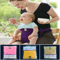 Baby Sack Seats Portable High Chair Shoulder Strap Infant Sa...