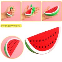 Artificial Watermelon Soft Squishy Scented Fruit Toy Slow Ri...
