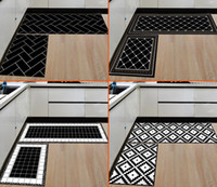 Kitchen Carpet Mat Door Bathroom Carpet Absorbent Slip- resis...
