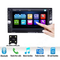 "2 Din 6. 6"" LCD Touch screen Car audio 12v auto radio pl..."