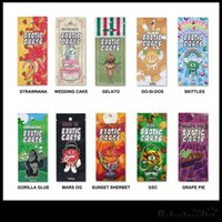 10 Flavors Exotic Carts Packaging Ziplock Bags For Exotic Va...