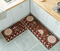 Kitchen Mat Bathroom Doormat Floor Mat Anti- slip Water Absor...