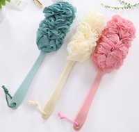 Long Bath Brush Crystal Handle Household Bath Brush Comfort ...