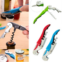 Stainless Steel Cork Screw Corkscrew MultiFunction Wine Bott...