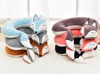 Fox U Shaped Pillow Lovely Fox Animal Cotton Plush U Shape N...
