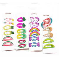 Kids Cute Hair Clip Cartoon Fruits Unicorn Animal Shape Baby...