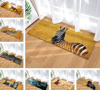 3D Horse Zebra Printed Carpet Door Mat Playing Area Rugs Car...