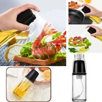 Olive Oil and Vinegar Sprayer Bottle Kitchen Cooking Tool Ba...