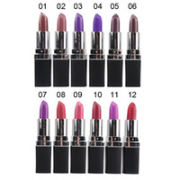Wholesale purple lipstick for sale - Qibest Colors Lipstick Vampire Grape Purple Dark Black Lipstick Vampire Style Matte Lipstick Masquerade Comestic