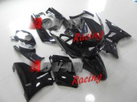 Wholesale Full custom painted bright black sport utility injection molding fairing Kawasaki ZZR400
