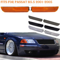 Wholesale door bumpers for cars for sale - Fits For Passat B5 Front Corner Bumper Side Marker Turn Signal Light Amber Black Smoke White Lens