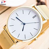 Wholesale fashion men s watch luxury for sale - 2017 fashion men and women s stainless steel luxury quartz colock watch A classic business men wristwatches relojes hombre