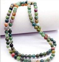 Wholesale buddhist jade for sale - HOT Natural mm stone Buddhist Prayer s Mala Bracelet Necklace