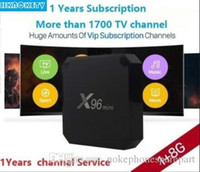 Wholesale 1 Years X96 mini Android Smart TV BOX HKNOKETV Code Year IPTV subscription