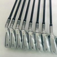 Wholesale New Golf clubs TM Golf irons P S with TM irons Golf shaft and Graphite Shaft clubs Set DHL free shippin