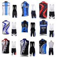 Wholesale giant team cycling bicycle jerseys for sale - GIANT team Cycling Sleeveless jersey Vest bib shorts sets Racing Bicycle Maillot Ciclismo MTB Bike Clothes Sportswear F