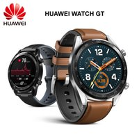 Wholesale HUAWEI Watch GT in Mobile Payment Heart Rate Sleep Monitor Calls SMS Reminder GPS Fitness Tracker for Android IOS Smartphone