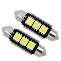 Wholesale car licences for sale - 10X36mm mm C10W C5W SMD SMD LED CANBUS Festoon Bulb Car Licence Plate Light Auto Housing Interior Dome Lamp White DC V