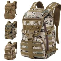 Wholesale military bags for sale - 3P Multi Function Outdoor Camouflage Backpack Tactical Military Rucksacks Men Camping Hiking Riding Bags Support FBA Drop Shipping M40F