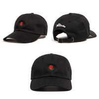 Wholesale design baseball caps online - 2017 The Hundreds Rose Snapback Caps snapbacks Exclusive customized design Brands Cap men women Adjustable golf baseball hat casquette hats