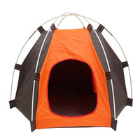 Wholesale pet playpens for sale - Hot sale Outdoor waterproof Pet tents Portable Folding Pet For Small Dog Cat House Puppy Bed Cage Playpen Windproof