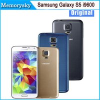Wholesale refurbished samsung for sale - Original Unlocked Samsung Galaxy S5 i9600 Cell Phones quot Super AMOLED Quad Core GB ROM Android Mobile Phone Refurbished