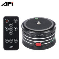 Wholesale camera tripod ball online - AFI MRA01 Professional Tripod Head Electric Panorama Ball Head with Remote Control for Action Camera Smartphone SLR