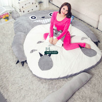 Wholesale totoro bed for sale - Dorimytrader pop anime totoro plush beanbag soft sleeping bag bed sofa tatami sofa sizes kids and adults gift decoration DY61809