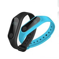 Wholesale m2 smart bracelet online - M2 Fitness Tracker Watch Band Heart Rate Monitor Waterproof Activity Tracker Smart Bracelet Pedometer Call Remind Health Smart Wristband