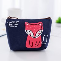 Wholesale coin purse online - Coin purse small size new arrival high quality canvas cute women wallets and purse wallets china