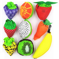 Wholesale shopping bags online - New Fruit folding bags of vegetable bag of environmental protection bags strawberry bag Shopping Bags Storage Bag