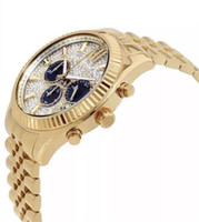 Wholesale Fashion classic business big Dial Watch M8494 M8515 Original box and Retail