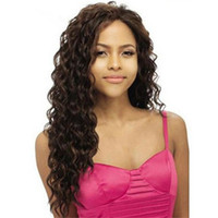 Wholesale full lace human hair wigs unprocessed online - Unprocessed Deep Wave Brazilian Hair Glueless Full Lace Human Hair Wigs for Black Women A Grade Human Hair Wigs