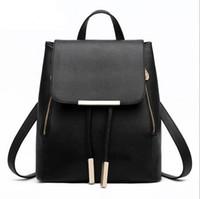Wholesale fashion backpacks for sale - 2015 Fashion Canvas Backpack Designer handbag Retro Shoulder Bags School bag computer bag
