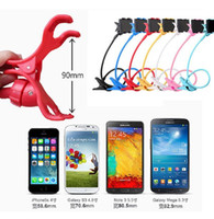 Wholesale black white purple bedding online - Universal Rotating Lazy Bracket Mobile Phone Flexible Long Arm phone Desktop Bed stand holder for iphone S Samsung S7 HTC Blackberry