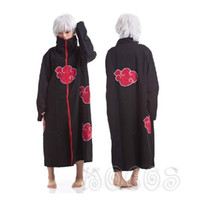 Wholesale naruto cosplay for sale - Cheap Naruto Naruto Cosplay Best Anime Costumes Akatsuki Itachi Cosplay Akatsuki Uchiha Itachi Cosplay Cloak Hooded