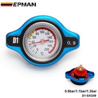 Wholesale D1 Spec Racing Thermost Radiator Cap Cover Water Temp gauge bar bar bar Universal Small Head D1 SXG09