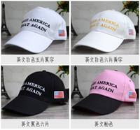 Wholesale design baseball caps online - baseball cap Trump Election MAKE AMERICA GREAT AGAIN Snapbacks Sports Caps mix designs Street cap TY